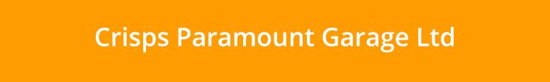 Crisps Paramount Garage Ltd Logo