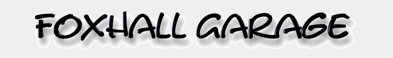 Foxhall Garage Logo