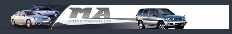 M A Motor Company Logo