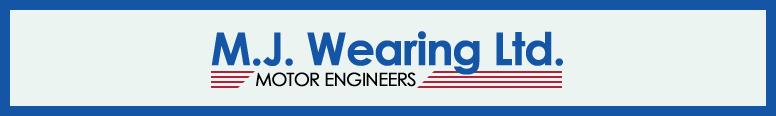 M J Wearing Logo