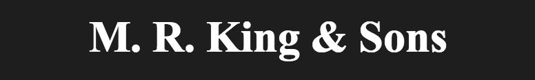 M.R.King & Sons Halesworth (Volvo) Logo
