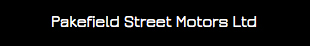 Pakefield Street Motors logo