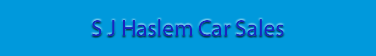 S J Haslem Car Sales Logo