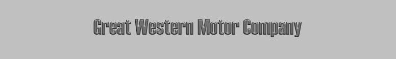 The Great Western Motor Company Logo
