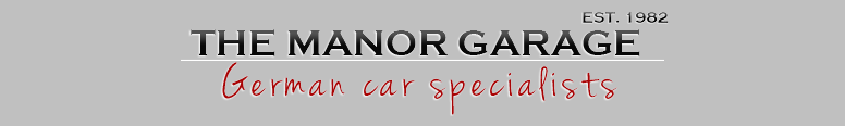 The Manor Garage Logo