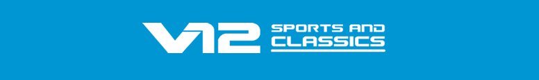 V12 Sports and Classics Logo