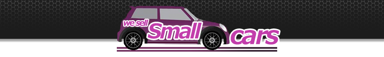 We Sell Small Cars Logo