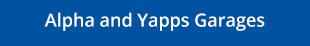 Alpha & Yapps Garages Logo