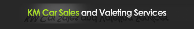 KM Car Sales and Valeting Services Logo