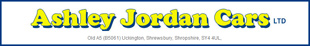 Ashley Jordan Cars logo