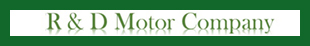 R&D Motor Company logo