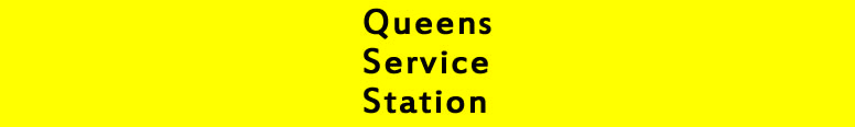 Queens Service Station Logo