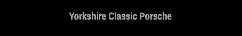 Yorkshire Classic Porsche Logo