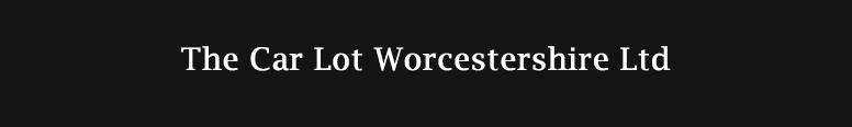 The Car Lot Worcestershire Ltd Logo
