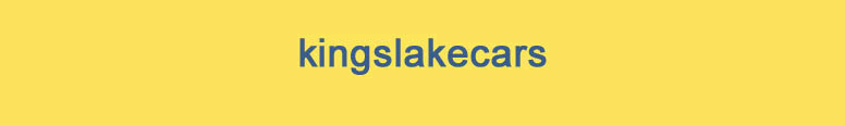 Kingslake Cars Logo