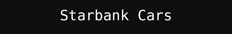 StarBankCars Logo