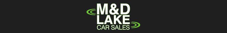 M & D Lake Car Sales Logo