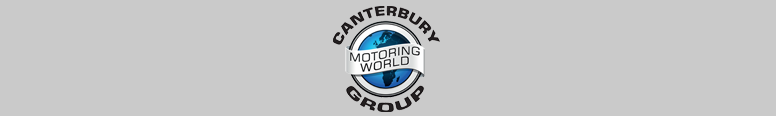 Canterbury Motoring World Family Logo