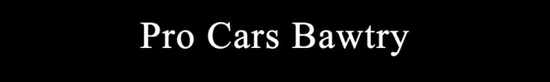 Pro Cars Bawtry Logo