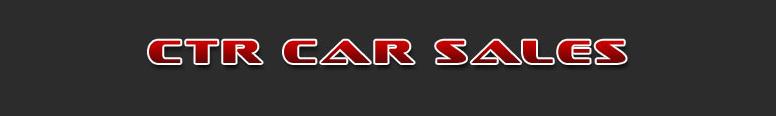 CTR Car Sales Logo