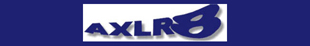 AXLR8 Cars logo