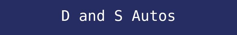 D and S Autos Logo