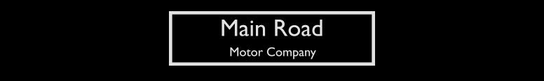 Main Road Motor Company Logo