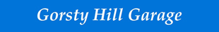 Gorsty Hill Garage logo