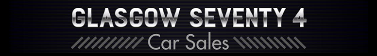 Glasgow Seventy 4 Car Sales Logo