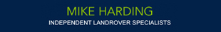 Mike Harding Land Rover logo