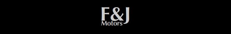 F and J Motors Logo