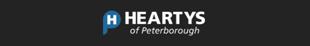 Heartys Of Peterborough logo