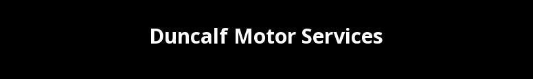 Duncalf Motor Services Limited Logo