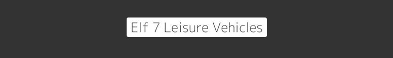 Elf 7 Leisure Vehicles Logo