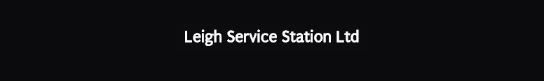 Leigh Service Station Car Sales Logo
