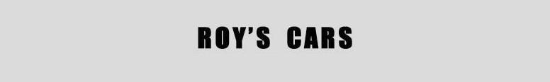 Roys Cars Logo