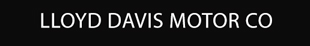 Lloyd Davis Motor Co logo