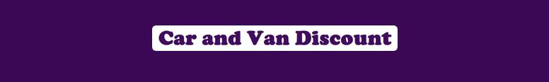 Car and Van discount.com Logo