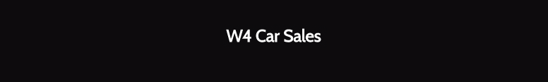 W4 Car Sales Logo