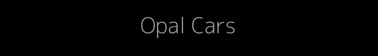 Opal Cars Logo
